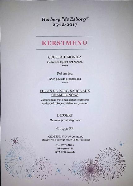 kerst menu 2017 facebook