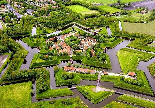 Fort-Bourtange-Netherlands